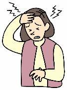 女性に多くみられる頭痛