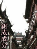→組成成分へ(上海・黄浦区・豫園商域・街並)
