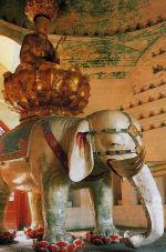 四川省峨眉山市・万年寺・普賢菩薩像・西暦980年鋳造