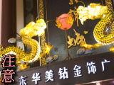 →注意へ(上海・黄浦区・豫園商域・ネオン)